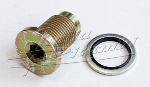 Oil screw, Oil drain screw with special seal Alfa Romeo 145, 146, 147, 155, 156, GT, 159, Spider, Brera,