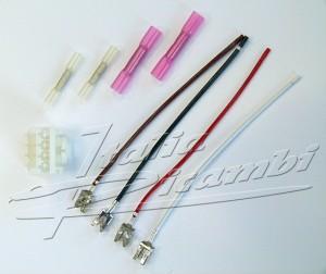 Plug repair kit, Cable repair kit for tail light Alfa Romeo 147, 156, 156 SW, 159, 159