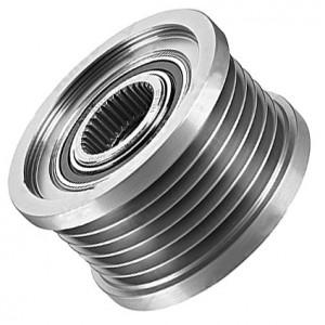 Alternator pulley / Generator pulley Alfa Romeo 159, 159 SW, Brera, Spider, (939) 2.0 JTDM  77364725