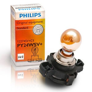 Bulb PY24W Silver Vision (flashing light)