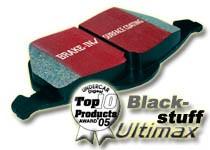 Brake Pads Set EBC-Blackstuff (RA) Alfa Romeo 145, 146, 155, GTV, Spider (916)  -DP596