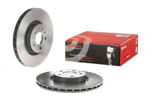 Brake disk set Brembo (FA) Alfa Romeo 147, GT, 156, GTV, Spider, 284 Ø