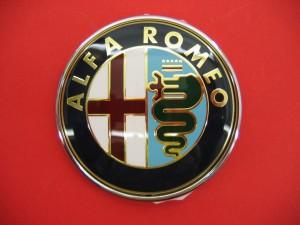 Emblem Bonnet Alfa Romeo 147, GTV, Spider, MiTo  - 46558973