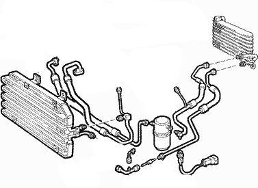 Kondensator Klimaanlage Alfa Romeo Spider 916S/_ 916/_ GTV 916C/_