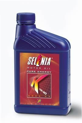 Engine oil selenia k 5w 40 pure energy multi air 1 liter for Pure synthetic motor oil