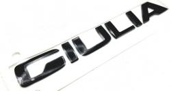 Original lettering Giulia in black metallic for the tailgate - 50556906